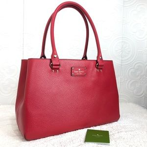 🌸OFFERS?🌸 Kate Spade Large Red Purse